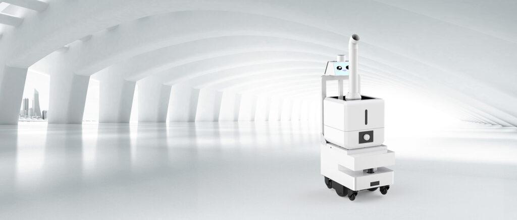喷雾消毒机器人
